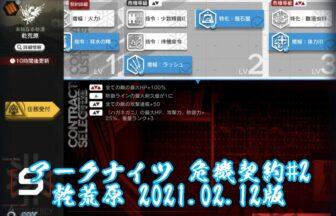 アークナイツ 危機契約#2 乾荒原 2021.02.12版